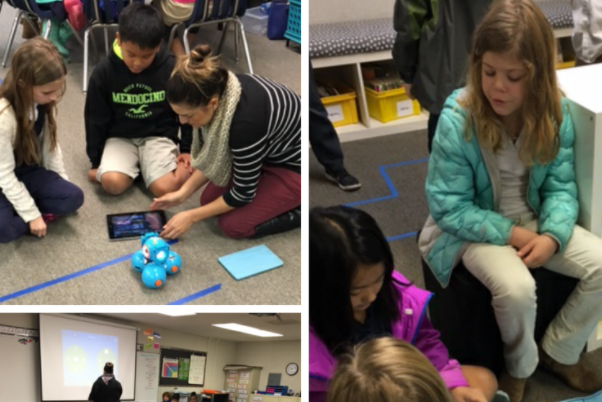 The 3rd grade team hosted an hour of code. Students had so much fun programming BeeBots, making drones fly, and learning about careers that require coding skills!