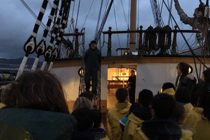 Our 4th Grade Explorers experienced joyful learning and perseverance on a field lesson on a tall ship in the San Francisco harbor for Age of Sail!