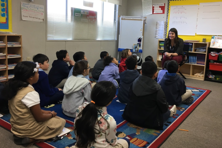 Mrs. Kavanas uses researched-based vocabulary acquisition strategies like Cognitive Content Dictionary to help her students develop key vocabulary.