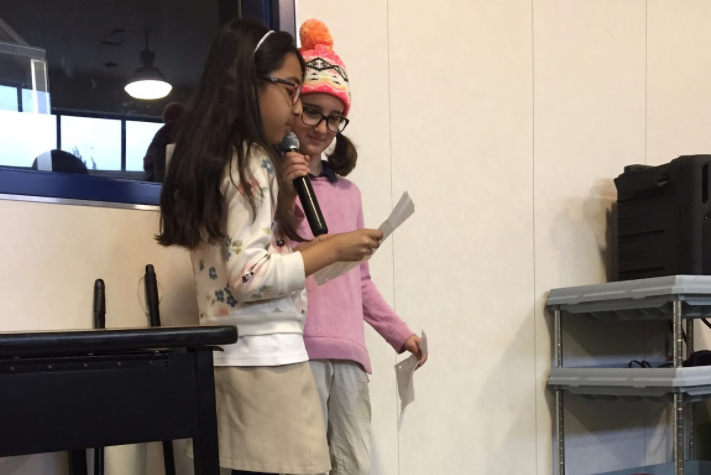 These two third-grade students were inspired by the month of Global Perspective!  They created an interview and used it to learn about the amazing cultures at WCS. Way to go, Callie and Jiya!