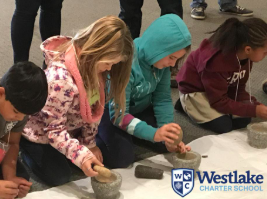 Our 3rd grade explorers have been learning about the Maidu and Miwok tribes. This month, they got to explore first hand how to make flour out of acorns like traditional Maidu people.
