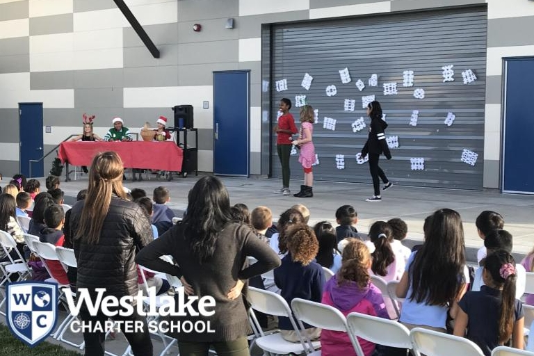 Our 3rd rotation of middle school electives finished strong! Our Beginning Theater class performed a play for 3rd grade students. Students were creative in Origami Art, Holiday Crafts, and Short Films, while others were challenged in Tinkering Lab, Puzzle Mania, Leadership, Yearbook, and Mission Possible.