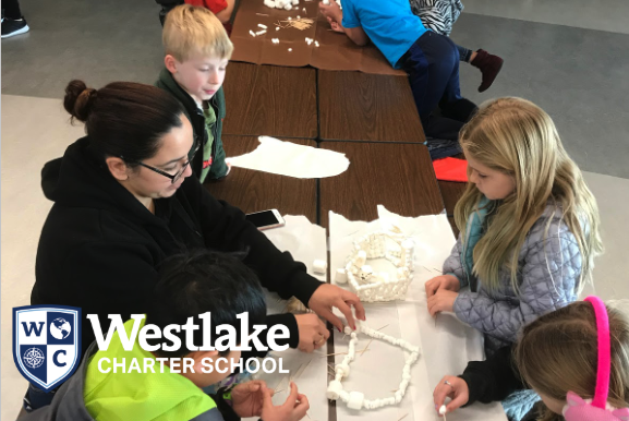 Over break, students in BASE participated in several creative challenges. Students collaborated to create polar bear habitats out of marshmallows and toothpicks, they had races moving objects with air flow, created catapults and had a family potluck! #JoyfulLearning