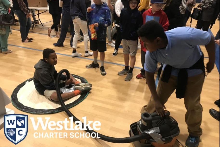 Westlake Charter School 6-8 science fair was a huge success! Thank you to all of our Explorer families for supporting your students.  #WCSJoyfulLearning