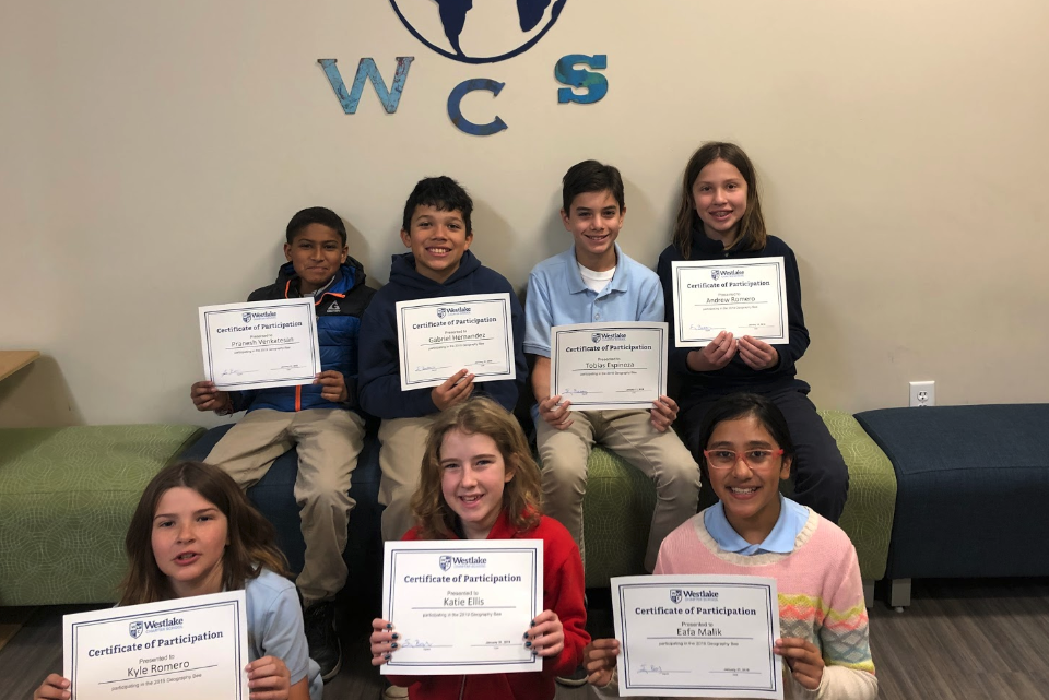 Some of our most worldly explorers took on the challenge of the National Geographic Geo Bee!  These seven students participated in a rigorous set of questions from all over the globe!  Our Geo Bee winner was Andrew Romero! Congratulations Andrew and great job to all of the participants.  #GlobalPerspective