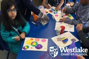 Over our February Break, BASE Explorers had the opportunity to learn about and recreate the works of such artists as Kandinsky, Picasso, and Pollock. In addition, students completed a variety of team challenges as well as winning against the staff in dodgeball during Staff VS Kids in the month of February to celebrate the core value of #WcsJoyfulLearning!