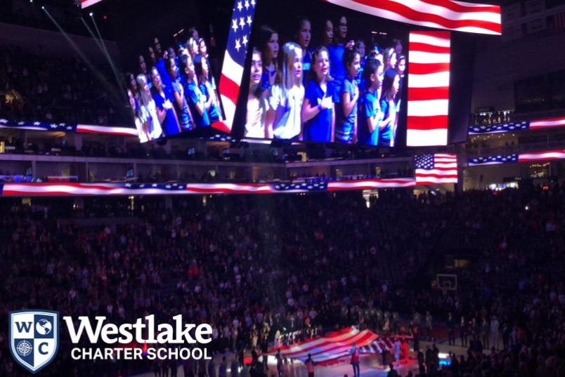 Congratulations to our fantastic Glee Club for singing the National Anthem at the Kings game on Thursday! Thank you Rachel Songer for coordinating this awesome opportunity for our Explorers!
