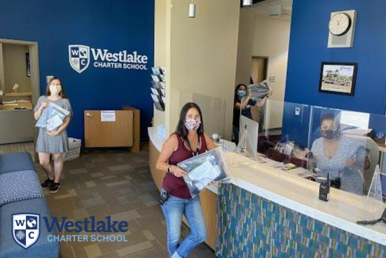 We had our first chromebook delivery day for the 2020-2021 school year. More than 100 devices were distributed this week. If you still need a device, make sure you complete the Summer 2020 survey. To change your response, email admin@westlakecharter.com