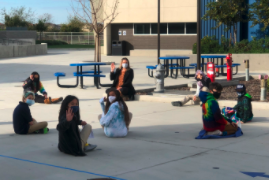 It is so great to have our K-8 students return to campus this week! Our K-2 students have quickly shown mastery of health and safety practices on campus, and our 3rd to 8th grade students have joined them in maintaining social distancing, hand washing, and keeping their masks on to keep our campus community safe!